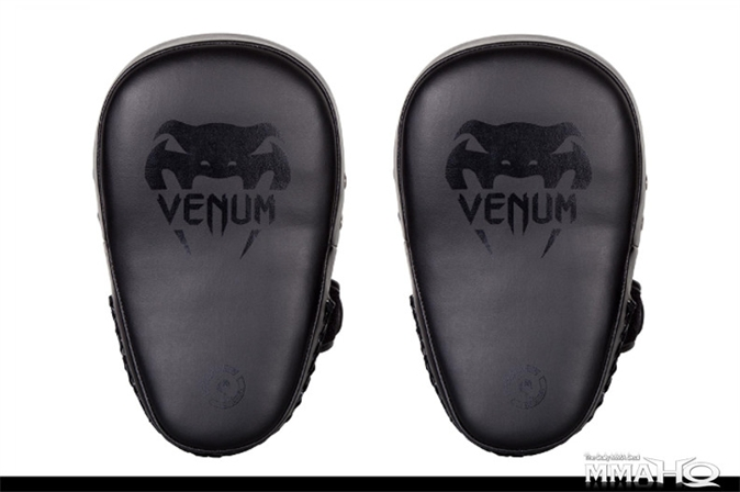Venum Elite Small Kick Pads - BlackBlack